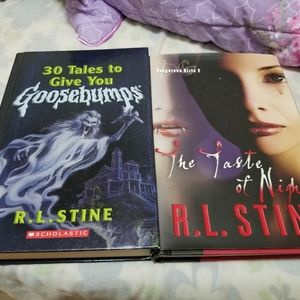 Bundle 2 R.L. Stine hardcover books
